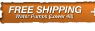 Free Freight on Most Water Pumps