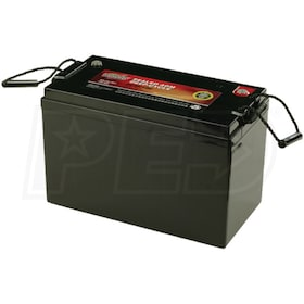 Interstate Batteries 12V Maintenance Free Deep Cycle 100AH AGM Battery