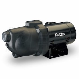 Flotec FP4012 - 8 GPM 1/2 HP Thermoplastic Shallow Well Jet Pump (115V/230V) (Scratch & Dent)