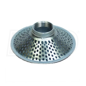 "Apache Hose 3"" Plated Steel Top-Hole Skimmer Strainer"