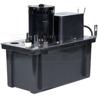 Little Giant VCL-24ULS  - 4.1 GPM Thermoplastic Condensate Removal Pump w/ Safety Switch (24' Lift)