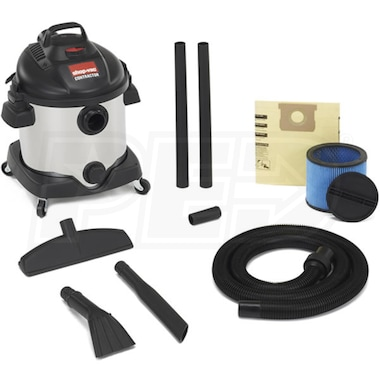 Shop-Vac 8-Gallon 5.5-HP Stainless Steel Wet/Dry Vac