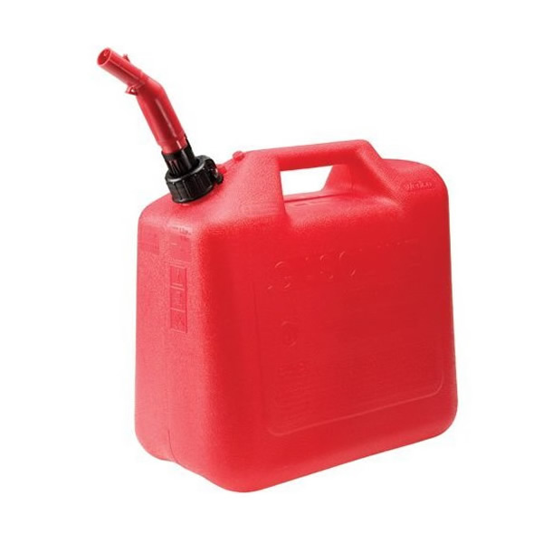 2+ Gallon Plastic Spill Proof Gas Can