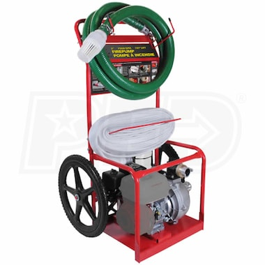 "BE HPFC-2070R - 126 GPM (2"") Fire Fighting Cart w/ Powerease Engine"