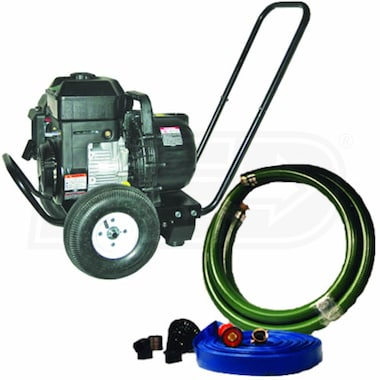 "Pacer 200 GPM (2"") Emergency Fire Fighting Water Pump Kit w/ Wheels"