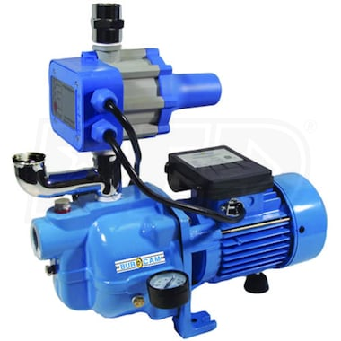 Bur-Cam 15 GPM 3/4 HP Cast Iron Shallow Well Dual App. Pump (Booster & Tankless Jet Pump)