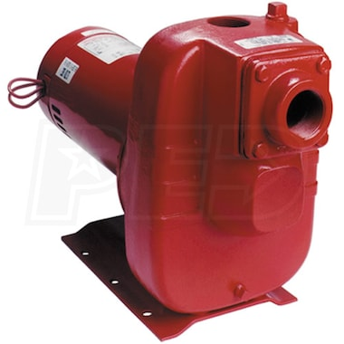 Red Lion 124 GPM 3 HP Self-Priming Cast Iron Sprinkler Pump 614481